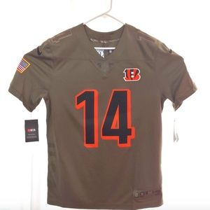 NFL Bengals Dalton 14 Salute to Service Jersey